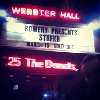 Photo taken at Webster Hall by Lauren H. on 3/15/2013