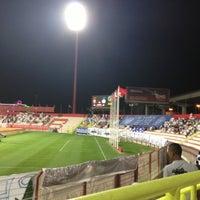 Photo taken at Al Ahli Club by Hamad A. on 11/29/2012