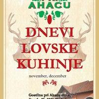 Photo taken at Gostilna pri Ahacu by Gostilna pri Ahacu on 11/17/2014