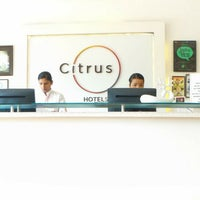 Photo taken at Citrus Hotel by Sumit G. on 4/22/2016