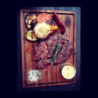 Снимок сделан в Red. Steak & Wine пользователем Maxim M. 1/22/2014