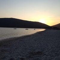 Photo taken at Spiaggia di Mugoni by Michele F. on 8/25/2013