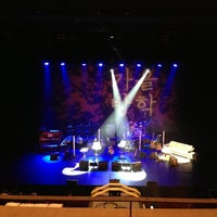 Photo taken at Sejong Center M Theater by Kyungdahm Y. on 12/29/2012