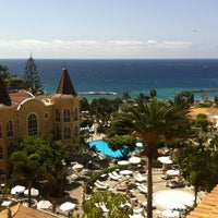 Photo taken at Gran Hotel Bahía del Duque Resort by Natalia K. on 9/22/2012