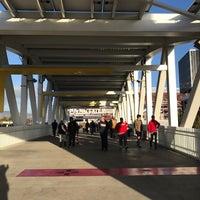 Photo taken at Levi's Stadium Fan Walk by Mike G. on 1/2/2017