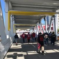 Photo taken at Levi's Stadium Fan Walk by Mike G. on 9/21/2017