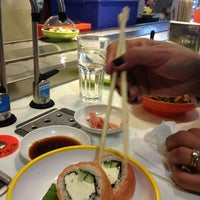 Photo taken at YO! Sushi by Jimmy F. on 3/20/2013