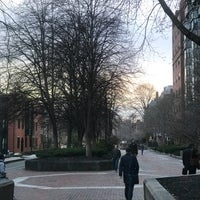 Photo taken at SW Corridor Park - Back Bay by Joshua L. on 3/30/2017