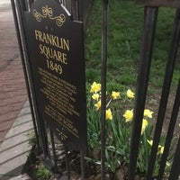 Photo taken at Franklin Square Park by Joshua L. on 6/16/2017