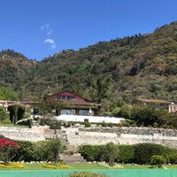 Photo taken at Hotel La Riviera De Atitlan by Joshua L. on 2/8/2018
