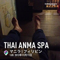 Photo taken at Thai Anma Spa by likeweed on 11/14/2013