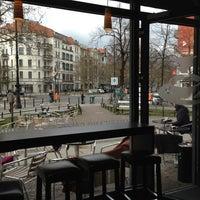 Photo taken at Einstein Kaffee by Ed J. on 4/13/2013