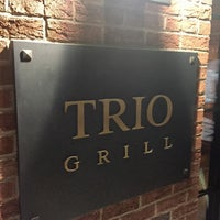 Photo taken at Trio Grill by Bobby on 5/27/2017