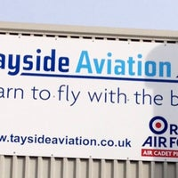 Photo taken at Tayside Aviation by Dan L. on 4/13/2013