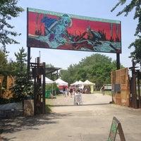 Photo taken at Socrates Park Greenmarket by Valerie S. on 6/22/2013