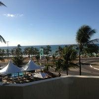 Photo taken at Mar Brasil Hotel Salvador by Eduardo P. on 2/11/2013