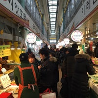 Photo taken at 토지금고시장 by Lucy S. on 2/18/2015