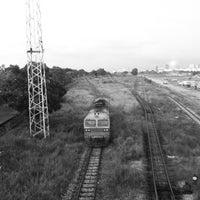 Photo taken at สุสานรถไฟ by Vatcharakit S. on 7/2/2013