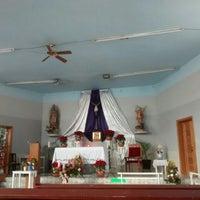 Photo taken at Iglesia De San Miguelito by Marta G. on 12/18/2015