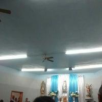 Photo taken at Iglesia De San Miguelito by Marta G. on 4/24/2016