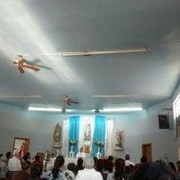 Photo taken at Iglesia De San Miguelito by Marta G. on 4/10/2016