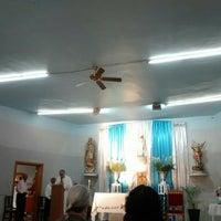 Photo taken at Iglesia De San Miguelito by Marta G. on 4/8/2016