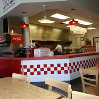 Photo taken at Five Guys by Feras A. on 8/27/2013