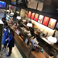 Photo taken at Angel-in-us Coffee by Kim J. on 1/12/2018
