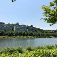 Photo taken at 요천강 by Kim J. on 6/15/2018