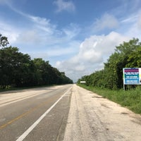 Photo taken at carretera cancun km 222 👼 by Kim J. on 10/17/2017
