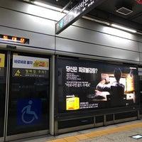 Photo taken at Dongdaemun Stn. by Kim J. on 1/8/2018