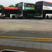 Photo taken at Hougang Central Bus Interchange by Pins. 💋 on 3/29/2013