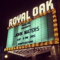 Photo taken at Royal Oak Music Theatre by Dan S. on 12/16/2012