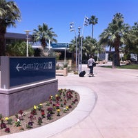 Photo taken at Palm Springs International Airport (PSP) by Liz S. on 4/28/2013
