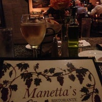 Photo taken at Manetta's Ristorante by Vidya S. on 7/2/2013