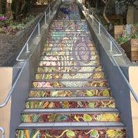 Photo taken at Hidden Garden Mosaic Steps by melleemel on 10/1/2017