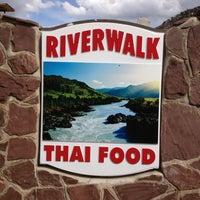 Photo taken at Riverwalk Thai Restaurant by Bekki M. on 3/28/2013