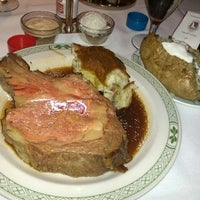 Photo taken at Lawry's The Prime Rib by Wendy F. on 2/27/2013