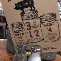 Photo taken at Sauced BBQ & Spirits - Sacramento by Nai on 10/10/2017