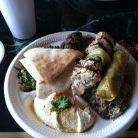 Photo taken at Nunu's Mediterranean Cafe by Jeffrey N. on 10/4/2012