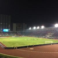 Photo taken at Supachalasai Stadium by ภัทรสิริย์ ภ. on 2/28/2017