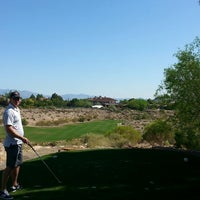 Photo taken at Badlands Golf Club by Carl T. on 4/19/2014