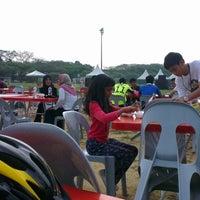 Photo taken at Club Athletico Bukit Jelutong Festival 2013 by Azlan O. on 3/10/2013