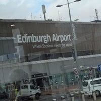 Photo taken at Edinburgh Airport (EDI) by Dee F. on 8/6/2014