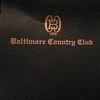 Photo taken at Baltimore Country Club by DoN P. on 10/4/2012