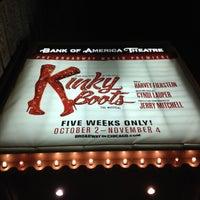 Снимок сделан в CIBC Theatre пользователем Jason B. 10/5/2012