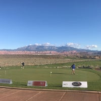 Photo taken at Sand Hollow Resort by Tom B. on 9/24/2017