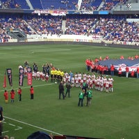 Photo taken at Red Bull Arena by vincent l. on 3/30/2013