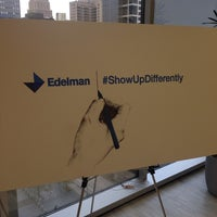 Photo taken at Edelman by Zachary T. on 2/20/2014