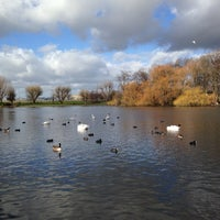Photo taken at Alvaston Park by Adam J. on 2/16/2014